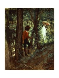 In Woods Giclee Print by Giovanni Mochi