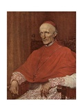 Cardinal Manning Giclee Print by George Frederick Watts