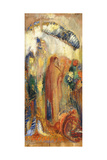 The Sermon Giclee Print by Odilon Redon