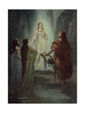 He Saw a Beautiful Woman Giclee Print by Hermann Hendrich