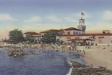Playa De Marianao, Marianao Bathing Beach Photographic Print by  American Photographer