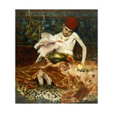 The Turkish Page Giclee Print by William Merritt Chase