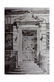 Door, New York, Ny, 1992 Giclee Print by Anthony Butera