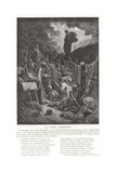 The Vision of Ezekiel Giclee Print by Gustave Doré