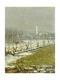 Landscape. Winter Sun, 1891 Giclee Print by Emilio Longoni