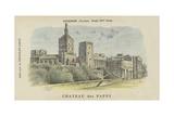 Chateau Des Papes, Avignon, Vaucluse Giclee Print