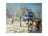 The Dyckman House, 1913 Giclee Print by Ernest Lawson