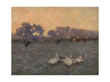 Sunrise in Winter, C.1891 Giclee Print by Edward Stott