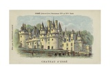 Chateau D'Usse, Usse, Indre-Et-Loire Giclee Print