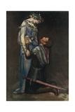 La Belle Dame Sans Merci by John Keats Giclee Print by Robert Anning Bell