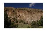USA, Near Los Alamos, New Mexico, Bandelier National Monument, Frijoles Canyon Giclee Print