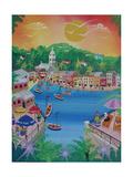 Portofino, Italy, 2012 Giclee Print by Herbert Hofer