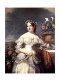 The Bride, Serena Mayer Franklin, 1838 Giclee Print by Jacob Eichholtz