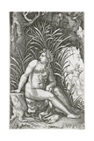 Procris Killed by Cephalus, 1539 Giclee Print by Georg Pencz