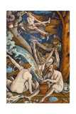 Witches, 1508 Giclee Print by Hans Baldung Grien