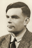Portrait of Alan Mathison Turing, 1951 Photographic Print