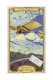 Alberto Santos-Dumont at St Cyr, France Giclee Print