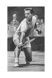 Mike Sangster, Tennis Player Giclee Print by Ralph Bruce