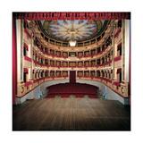 Sanzio Theater, 1829 - 1853 Giclee Print