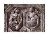 Relief from Archivolt of Door of Church of Saint Michel, Dijon, Burgundy, France, 15th-16th Century Giclee Print