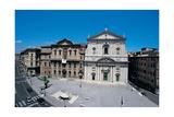 Piazza Della Chiesa Nuova, Rome Giclee Print