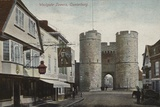 Westgate Towers, Canterbury, Kent Photographic Print