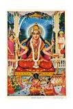 Durga, Vishnu Giclee Print