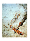 Aerial Combat, World War One Giclee Print