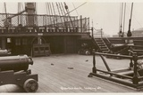 Quarterdeck of HMS Victory, Looking Aft Photographic Print by  English Photographer