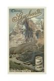 Jungfraubahn Railway, Switzerland Giclee Print