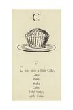 The Letter C Giclée-Druck von Edward Lear