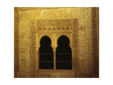 Spain, Granada, the Alhambra, the Infant's Tower, Window, Detail Giclee Print