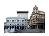Piazza De Ferrari Giclee Print