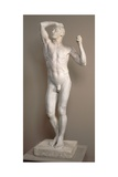 The Age of Bronze, Model 1875-1876, Cast 1898 Giclee Print by Auguste Rodin