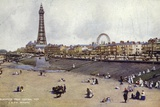 Blackpool from Central Pier Photographic Print