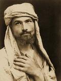 Self-Portrait of Baron Wilhelm Von Gloeden Photographic Print by Wilhelm Von Gloeden