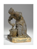 Maquette for a Figure of a Washer-Woman Giclee Print by William Hamo Thornycroft