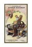 Cocoa Grinder Giclee Print