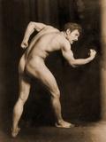 Study of a Male Nude, C.1900 Photographic Print by Wilhelm Von Gloeden