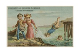 Swimming Giclee Print