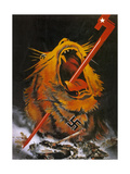 """Kill the Savage Beast!""1941 Giclee Print"