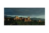 Spain. Granada. the Alhambra. the Alcazaba. Giclee Print
