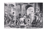 The Charioteer Giclee Print by  English School