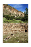 USA, Near Los Alamos, New Mexico, Bandelier National Monument, Big Kiva Giclee Print