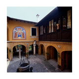 Courtyard of the Slavs Giclee Print