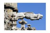 Italy, Milan, Cathedral, Gothic, Exterior, Gargoyle, Fanastic Animal Giclee Print
