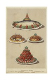 Meat and Seafood Dishes Wydruk giclee