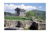 Pagan Temple Dedicated to Mithras, Garni, Armenia Giclee Print