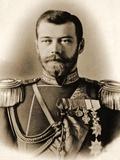 Portrait of Tsar Nicholas II Photographic Print