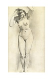 Standing Nude Giclee Print by William Edward Frost